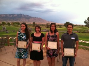 2011 NMAVS scholarship winners