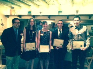 2014 NMAVS scholarship winners